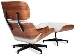 Furniture: Ivory White And Walnut Eames Lounge Chair Replica 221d V Replica Eames Lounge Chair Organic Fabric Armchairs Nick Simplynattie Chairs Real Or Fniture Montreal Style And Ottoman Brown Leather Cherry Wood Designer Black Home 6 X Retro Eiffel Dsw Ding Armchair Beech Arm With Dark Legs For 6500 5 Daw Timber White George Herman Miller Eams Alinum Group Italian Surripuinet Light Grey