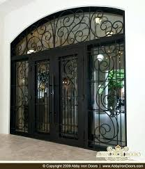 Front Door Lowes Outstanding Wrought Iron Exterior That Eye With