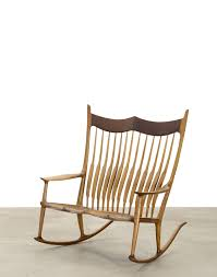 SOLD! A Sam Maloof Double Rocking Chair Fetched $35,000 ...