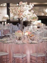 Elegant Dusty Pink And Silver Wedding Decor 24 For Diy Table Decorations With