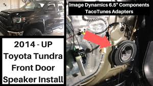 100 Best Truck Speakers 2014 2018 Toyota Tundra Front Door Replacement Install
