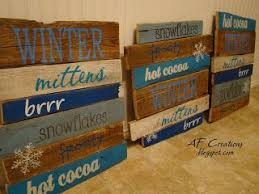 Pallet Decorations Make A Screen On Each Section Do Season Fall Winter
