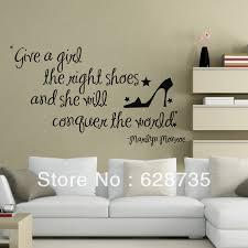 Make Your Own Wall Decals Marilyn Monroe Decal Quotes Vinyl Stickers Girls Bedroom Decor