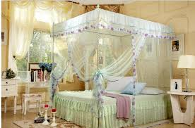 Queen Canopy Bed Curtains by Queen Bed Canopy Curtains Home Design