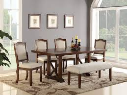 Amazon.com - Dining Room Formal Look Classic 6pc Set Dark ... Cherry Wood Ding Table And Chairs Chateau De Ville Formal Room With Leatherette Rowena Cream White Fniture Suitable Add Ding Room Wall Rustic Finish Woptions Coaster Tabitha Double Pedestal Pc Set Seat In Black Style Kincaid Park Group Traditional Kitchen Fancy Elegant Cherry Wood Formal Sets Cityofchelmsrdinfo