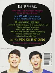 Youtube Childrens Halloween Books by The Amazing Book Is Not On Fire The World Of Dan And Phil Dan