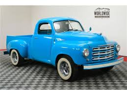 1953 Studebaker Pickup For Sale | ClassicCars.com | CC-1044835 1953 Studebaker Trucks Ad Wishing They Were Still So Fuel Commander Low Mileage Tri Star Custom Pickup Truck At Bicester Heritage Centre Bangshiftcom Sss Friction Studebaker Power Crane Truck On Slide S1135 Tow Vintage Motors Of Sarasota Inc South Bend Madness 10 Classic Ads The Daily Drive 1949 Pickup Hot Rod Network Metalworks Protouring 1955 Build Youtube
