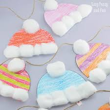 Simple Winter Hat Craft For Kids