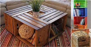 Vintage Decorating Ideas With Wooden Crates