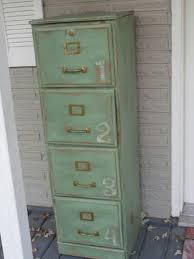 Love this altered metal file cabinet Inspiration only