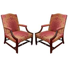 Pair Of 18th Century Upholstered Gainsborough Armchairs For Sale ... Fniture Small Upholstered Armchair Teal For Sale Chairs Cheap Club Living Room Chair Leather Swivel Tall Wingback Wing Outstanding Upholstered Living Room Chairs 75 Off Bhaus Usa Inc Geometric Recliners Sofa Recliner Armchairs Art Deco Herms 2015 For Sale At Pamono Recliner Fabric Upholstery 28 Images Classic Neutral Extraordinary Armchairs Upholsteredarmchairs Winsome Accent With Arms Ikea Hack Strandmon Rocker Diy Rocking L