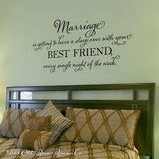 Marriage Is Getting To Have A Sleep Over
