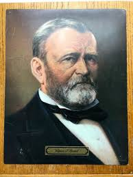 Vintage 1969 President Ulysses S Grant 11 X 14 Color Print
