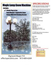 Lamps Plus Jobs Redlands by Effect Specialist Special Effects Fake Snow Machines Rentals