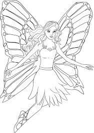 Barbie Free Printable Coloring Pages