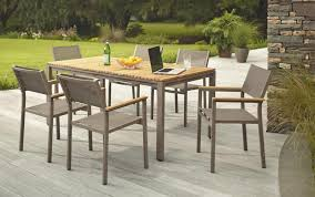 King Soopers Patio Table by Hampton Bay Barnsdale Teak 7 Piece Patio Dining Set 259