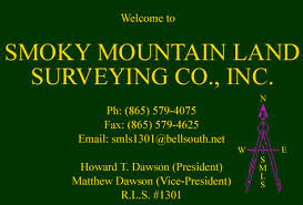 Smoky Mountain Land Surveying Co Inc Home Page