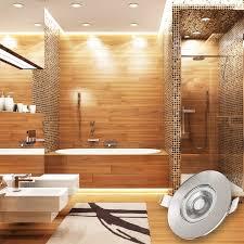 b k licht led einbauleuchte led board 6 st warmweiß led bad einbauspots strahler le ultraflach deckenspots ip44 6er set