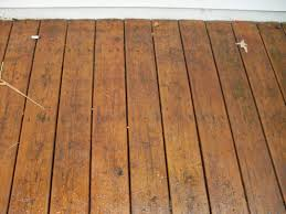 natural stained decks