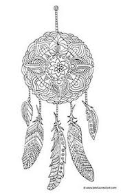 118 Best Dreamcatcher Coloring Page Images On Pinterest