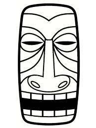 Dessin Totem Tiki Belle Coloriage Serpent The 25 Best Tiki Head