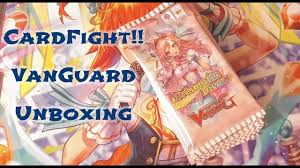 cardfight vanguard trial deck 14 character booster 5 unboxing