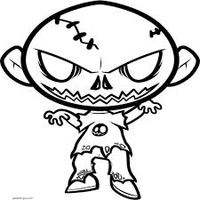 Dibujos De Pou Para Colorear Disney Zombies Coloring Pages