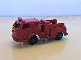 100 Tootsie Toy Fire Truck Vintage Error Toy Pumper 1950s Metal