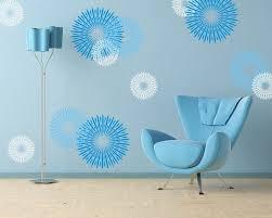 Circular Wall Decals Design