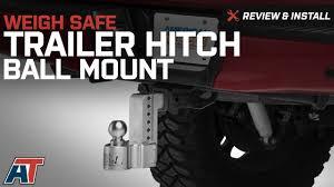 1997-2017 F150 Weigh Safe Trailer Hitch Ball Mount - 6