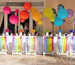 décoration d anniversaire originale birthdays rainbows and