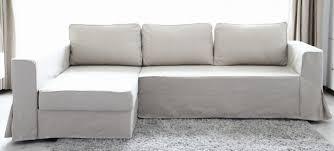 Ikea Kramfors Sofa Cover by Comfort Works Custom Slipcover For Ikea Fagelbo Sofabed In Linen