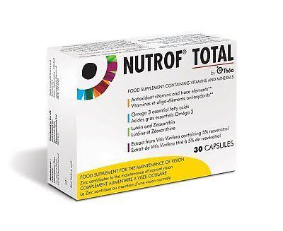 Nutrof Total - Food Supplement, 30 Capsules
