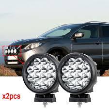 100 Truck Spotlights Led Car Lights 6 60W Round Led Off Road Lights 12V