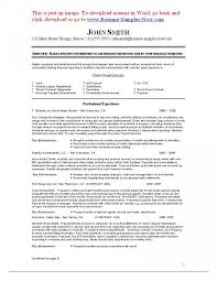 Entry Level Bookkeeper Resume Sample Free Templates And Bookkeeping With Regard To