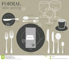 How To Set Dining Table For A Formal Dinner Mpfmpfcom