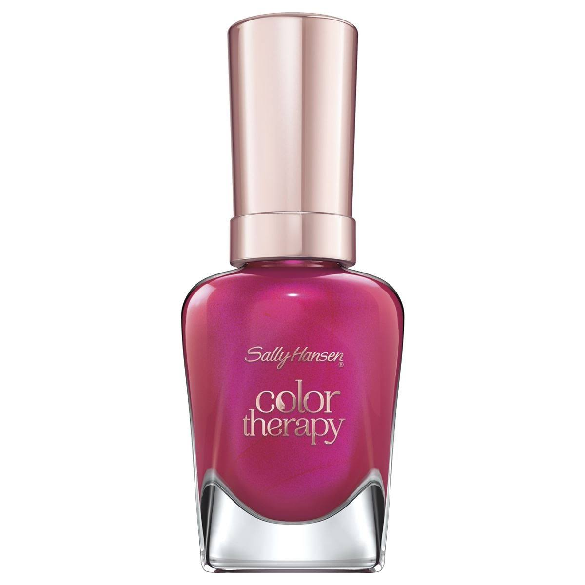 Sally Hansen Color Therapy Nail Colour - 250 Rosy Glow, 14.7ml