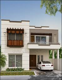 100 Design For House Front Views Civil Engineers PK