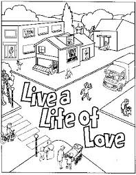 Full Image For Love Your Enemies Coloring Page God Is Pages