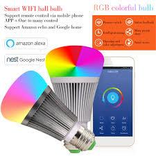b1 led bulb dimmer wifi smart light bulbs remote wifi