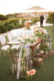 Beautiful Rustic Country Wedding Table Ideas 7
