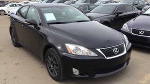 Pre Owned Black 2009 Lexus IS 250 Auto AWD Navigation Package