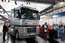 100 Magnum Trucks HANNOVER SEP 20 New Renault Truck At The International
