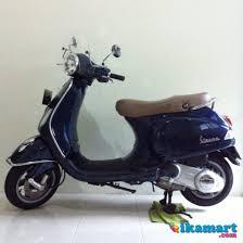 JUAL Piaggio Vespa LX 150 Ie 2012 Biru Modif Minimalis