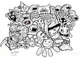 From The Gallery Doodling Doodle Art
