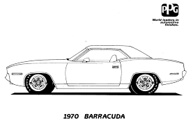 Free Classic Car Coloring Pages