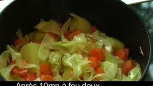 comment cuisiner le choux blanc recette potée de chou blanc aux épices bio cuisine vins