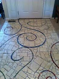 Mosaic Floors Foyers Mosaics Drinks Mary Patio Mud Rooms Terrace