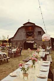 Gallery Rustic Barn Wedding Decor Ideas With Pink Flowers And Burlap