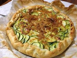 tarte salée aux courgettes et oeufs recette facile avec la pâte